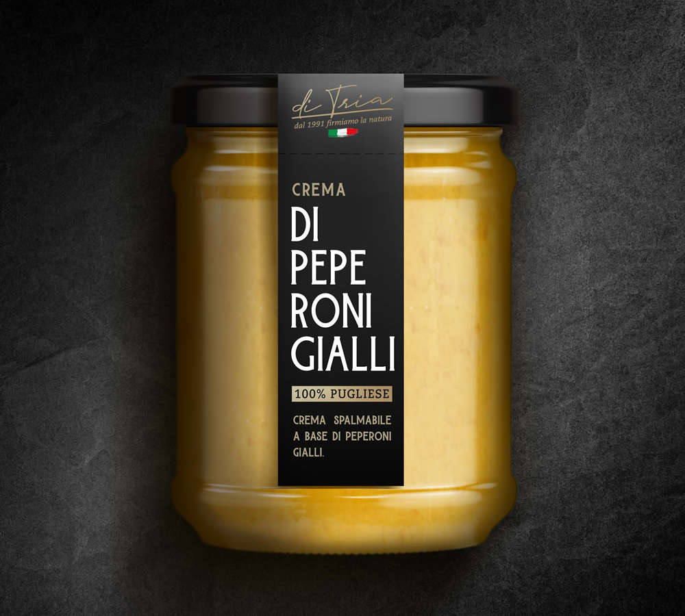 Crema di peperoni gialli