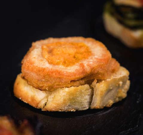 Parmigianina di zucca e funghi